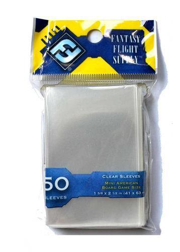 Protector cartas mini american board game sleeves (41x63 mm)