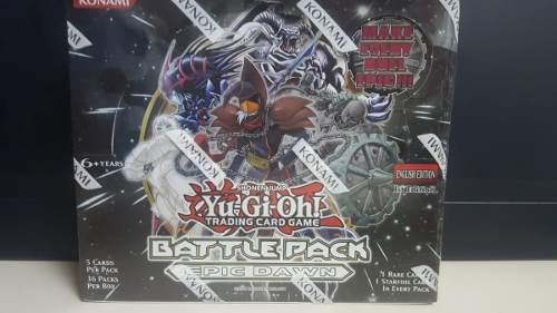 Yu gi oh tcg collector battle pack epic dawn booster box