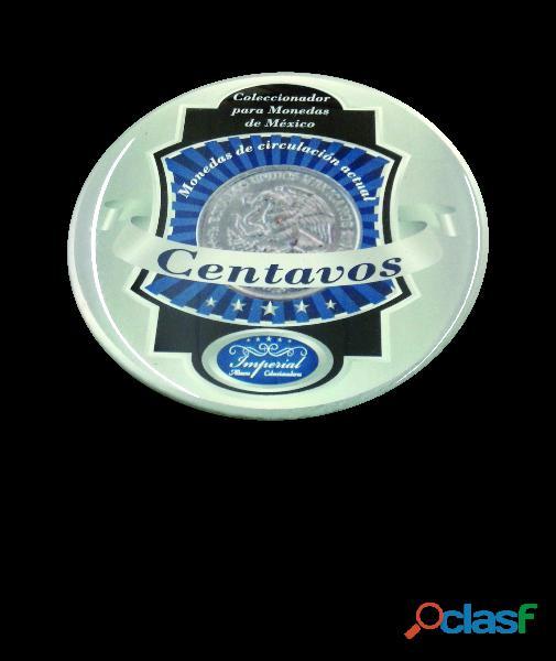 Album coleccionador de monedas para centavos actuales