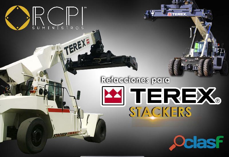 Refacciones y partes para stackers terex