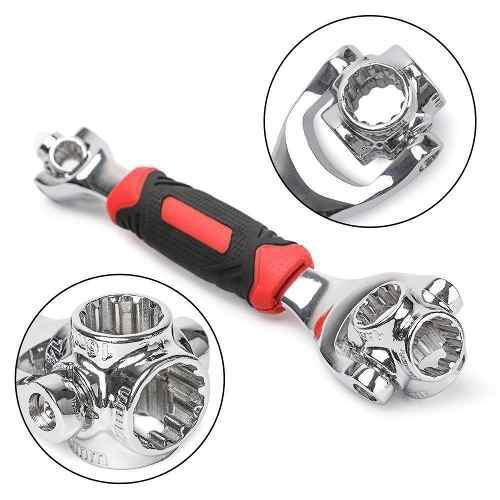 Llave inglesa universal wrench 48 en 1 multiuso casa negocio