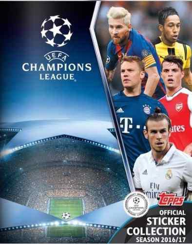 Album completo champions league 2016-17 topps