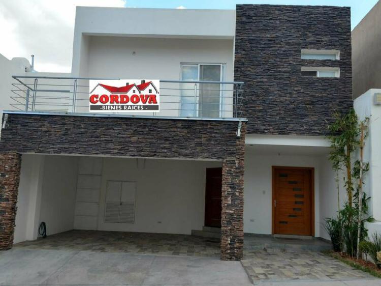 Casa en venta en albaterra etapa 1 muy equipada en chihuahua