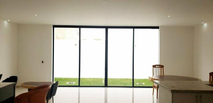 Casa nueva 3 rec con baño y vestidor, estudio, roof garden.