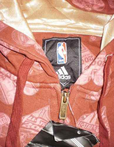 Chamarra sudadera de colección adidas 3xl all star nba 2007