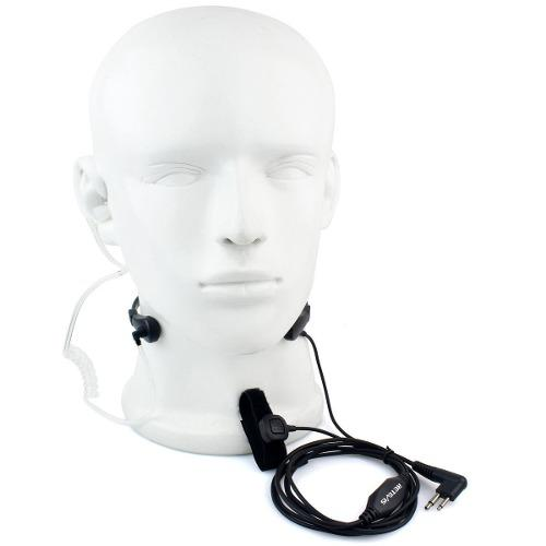Micrófono garganta auricular para motorola ep450 dep450