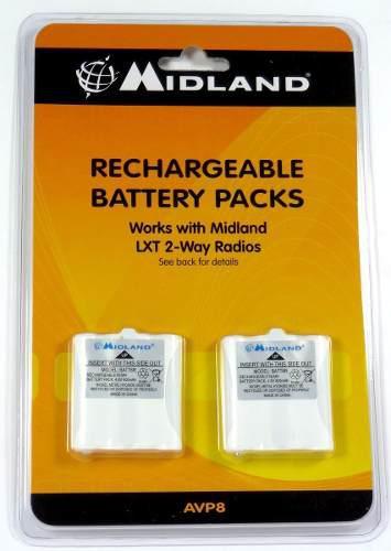 Midland avp-8 bateria recargable nuevo!