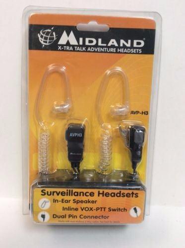 Midland avp-h3 manos libres transparente nuevo de linea!