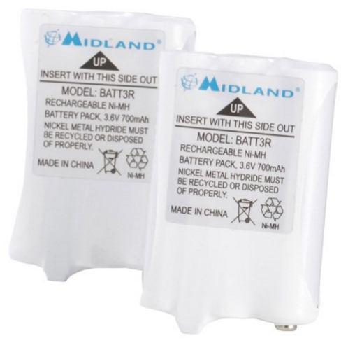 Midland batt3r avp14 baterias series lxt600 -t51 t61 t55 t65