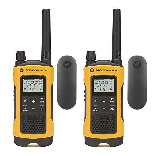 Motorola talkabout t402 recargable radios de dos vías (2-p