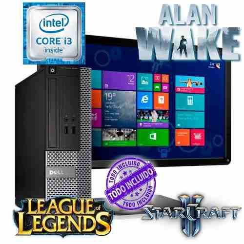 Pc dell gamer intel 8gb windows 10 office 2016