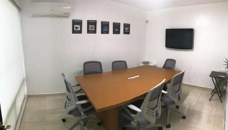 Renta oficina amueblada garza sada-alfonso reyes