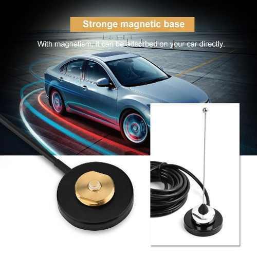 Uhf/vhf nmo montaje base magnética para coche radio móvil