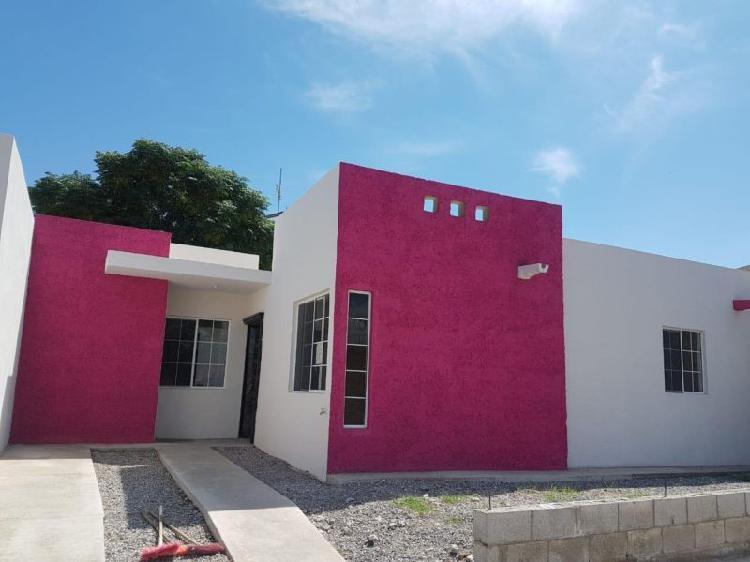 Venta de casa nueva, colonia melchor ocampo ciudad juarez