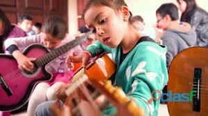 Clases de guitarra en domingo, sabado, coyoacan