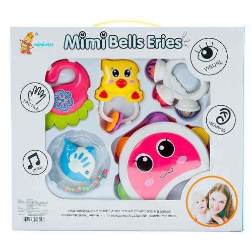 Ap set sonajas bebes articulos baby juguetes baratos 776-b7