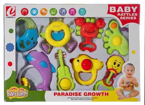 Ap set sonajas bebes articulos juguetes baratos k8804 / 03