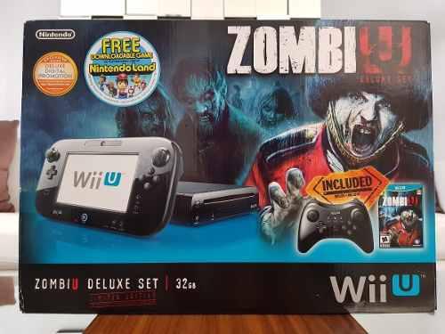 Consola wii u 32gb zombi u edicion limitada (usado)