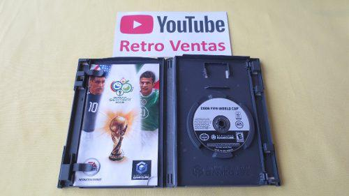 Fifa world cup 2006 alemania gamecube hasta 4 players