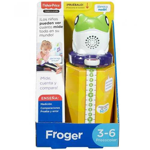 Fisher price froger rana juego cinta de medir con sonido