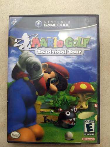 Gamecube mario golf toadstool tour