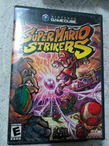 Gamecube mario strikers