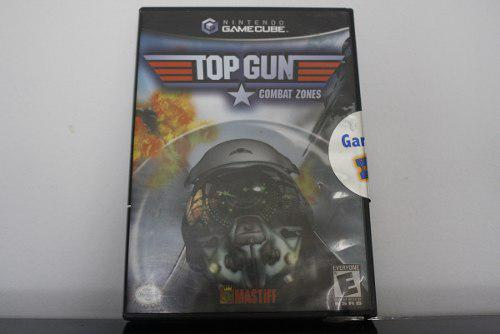 Juego para gamecube, top gun: combat zones
