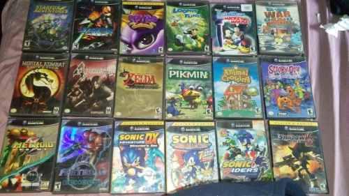 Juegos de gamecube precios varios