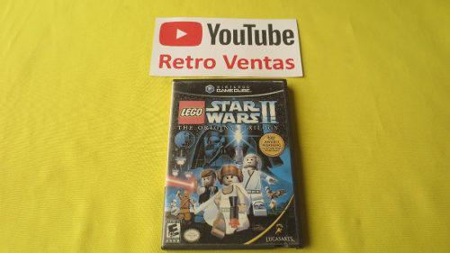 Lego star wars 2 gamecube original trilogy portada custom