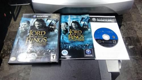Lord Of The Rings Two Tower Completo Para Nintendo Game Cube