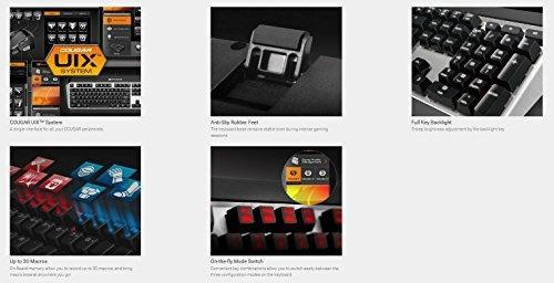 Puma cableado usb teclado para juegos mecánicos con cereza