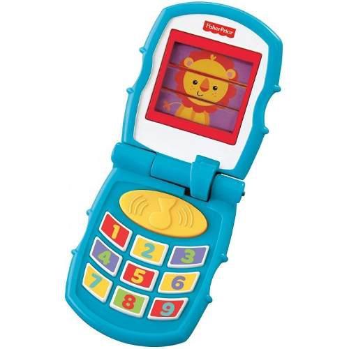 Teléfono sonidos divertidos fisher price