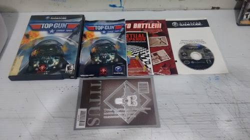 Top gun combat zones completo para nintendo game cube