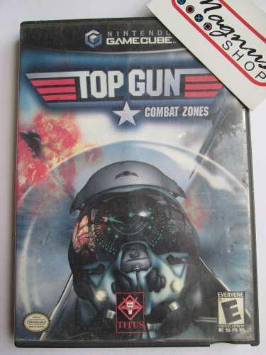 Top gun combat zones nintendo gamecube aviones de combate