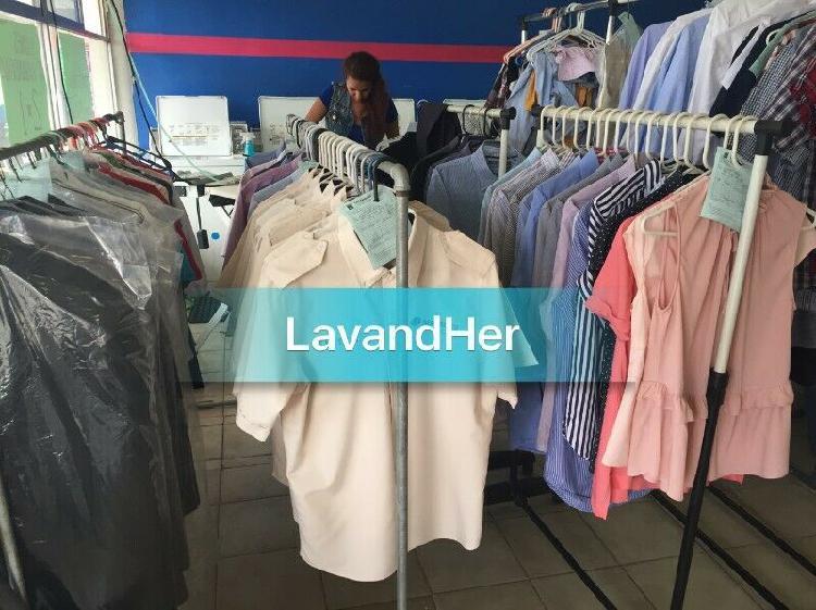 Traspaso lavanderia y planchaduria