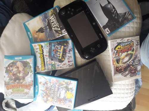 Wii u + 7 juegos excelente estado