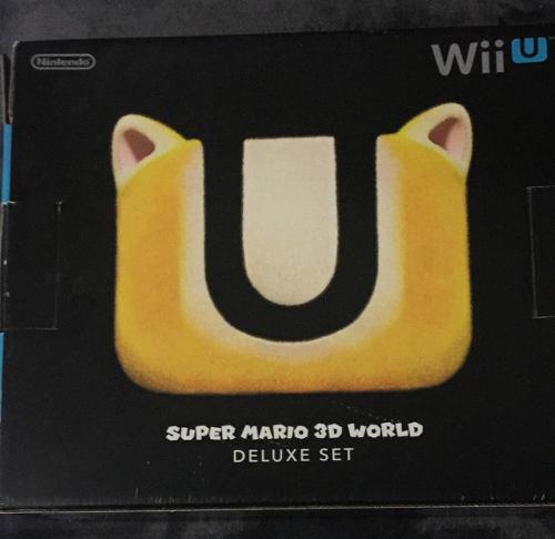 Wii u con 2 juegos ¡en excelente estado!