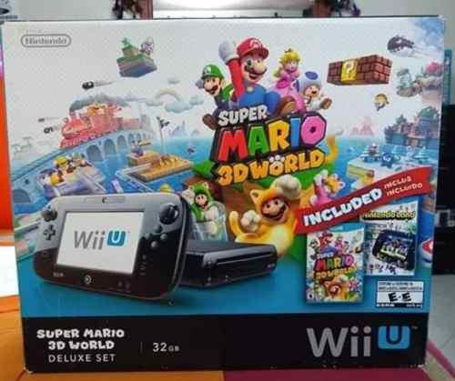 Wii U Delux Set 32 Gb