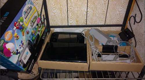 Wii u nintendo en caja deluxe set con mario kart completo