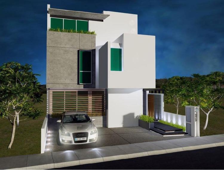 Casa con 470m2 de construcción, acabados de lujo en zona