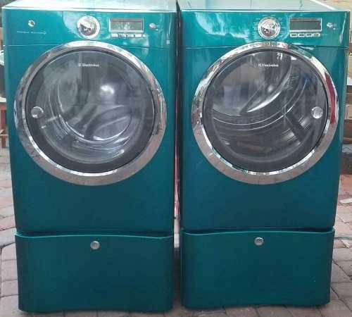 Lavadora y secadora ge