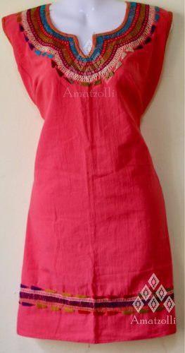 11cf5342e Lote 6 vestidos artesanales mexicanos alejandra de manta