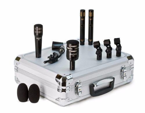 Micrófono Audix Bateria 4pz C/estuche Dpquad Confirma Exis