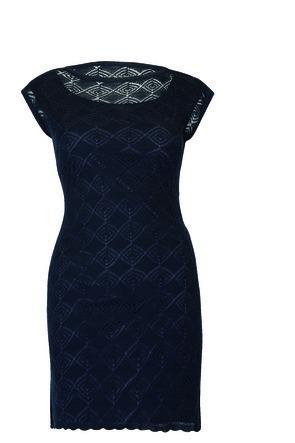 Vestido 72302 tejido punto moda mexicana tallas extra rinna