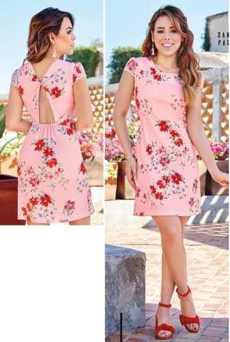 Vestido Cklass Rosa Multicolor 139 60 Primavera Verano 2018