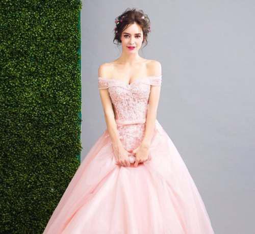 Vestido Quinceañera Xv Años Flores 3d Blushincluye En