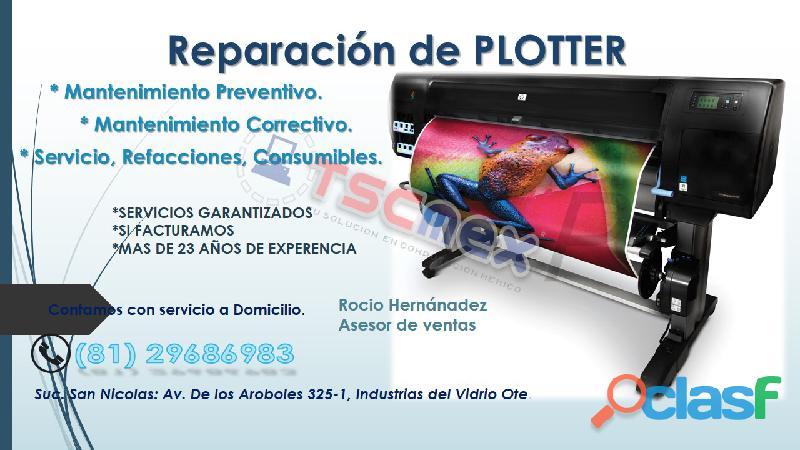 Reparación de Plotters Hp y Epson