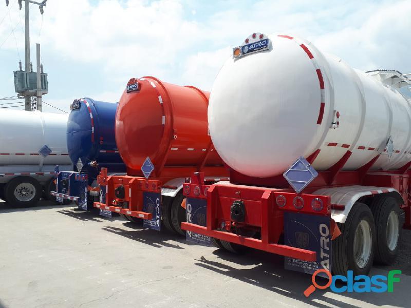 Pipa semiremolque tanque de 31,000 lts marca atro modelo 2020