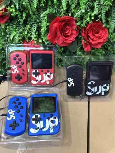 400 videojuegos sup game box mini consola #10pzs# 2jugadores