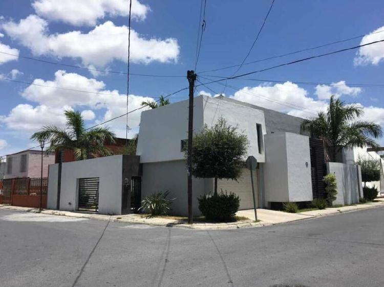 Casa en renta en col. jardín, reynosa, tam (caun0417) /